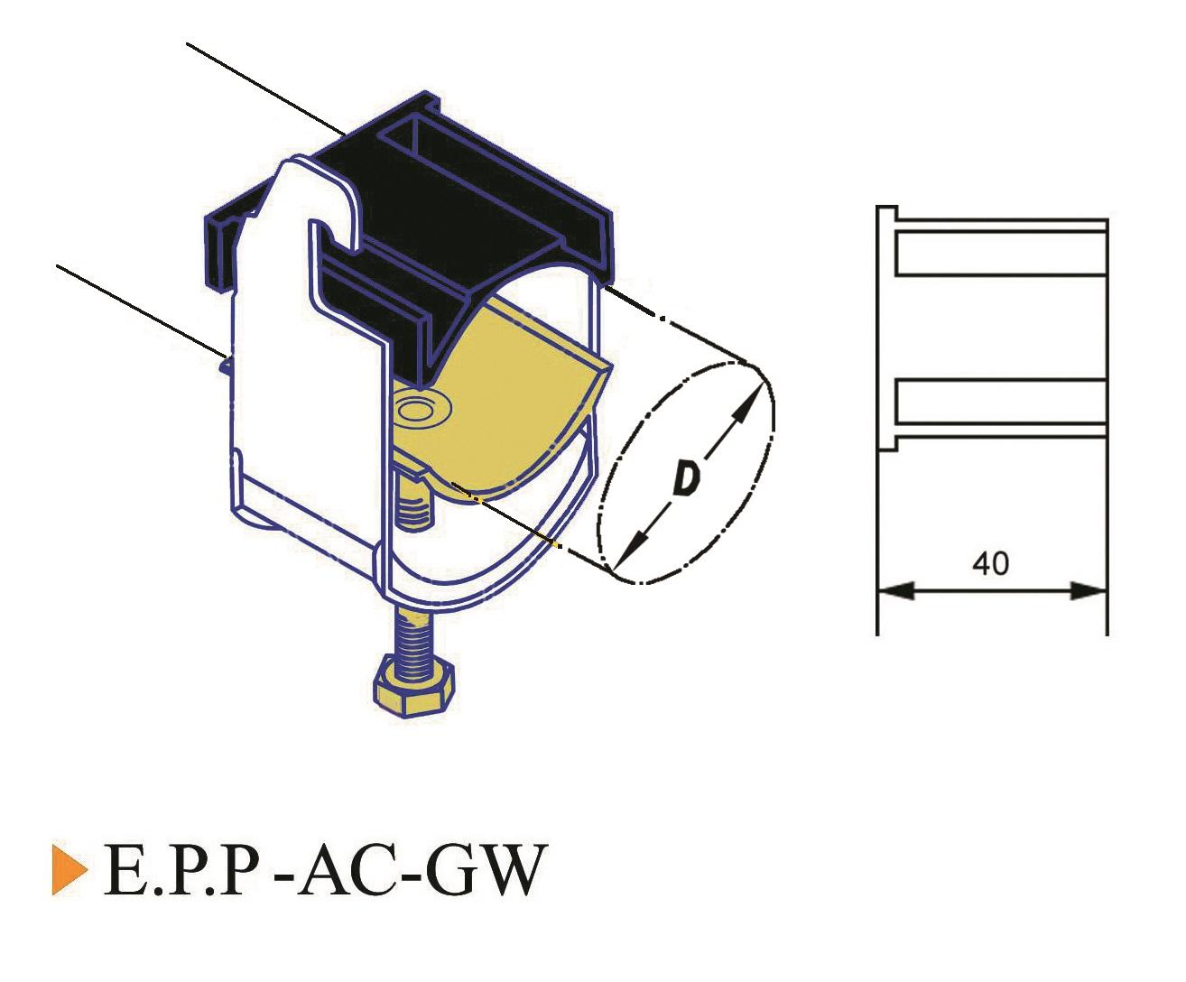 E.P.P-AC-Gw Cable Clamp