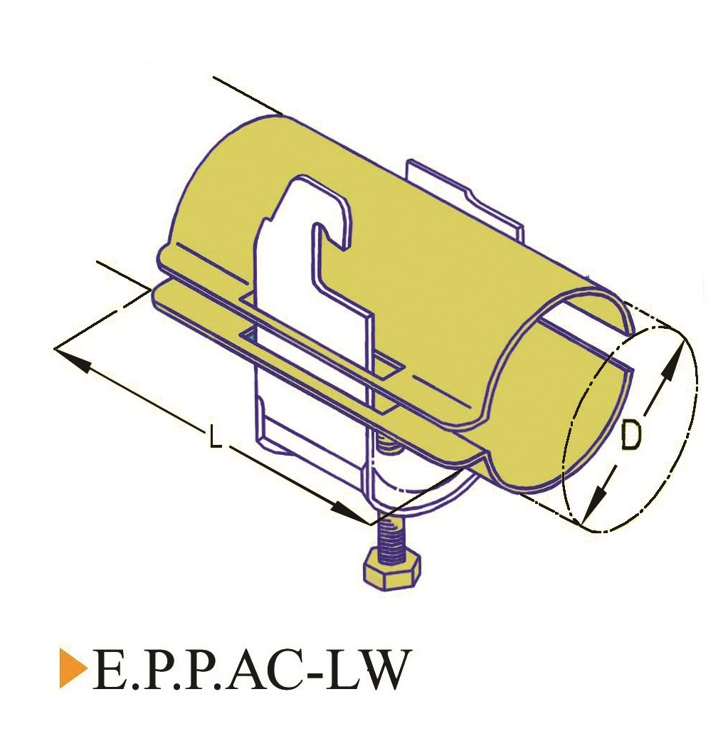 E.P.P-AC-LW Cable Clamp