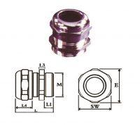گلند کابل فلزی E.P.P - APG