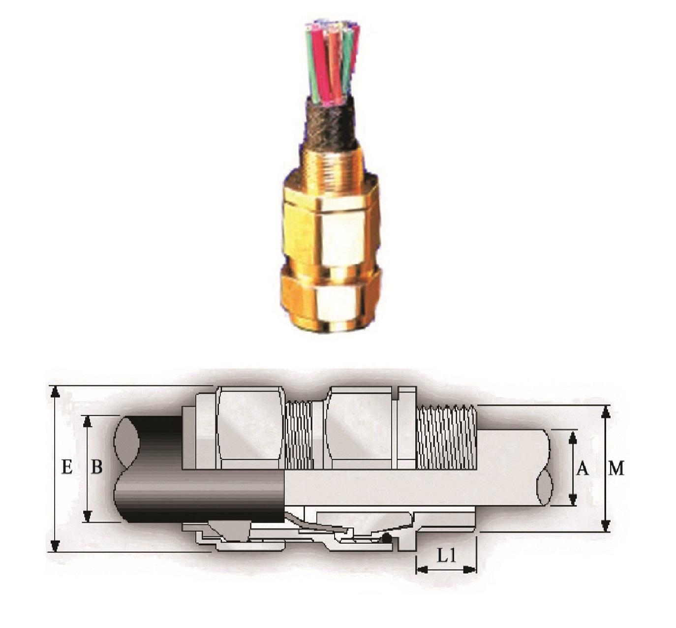 گلند صنعتی کابل E.P.P - C2K