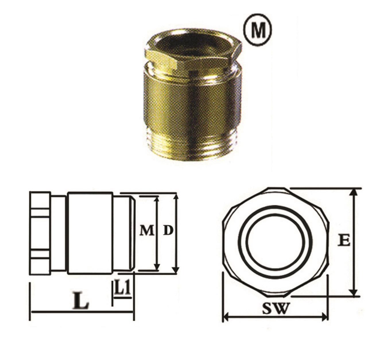 گلند کابل فلزی E.P.P - CM