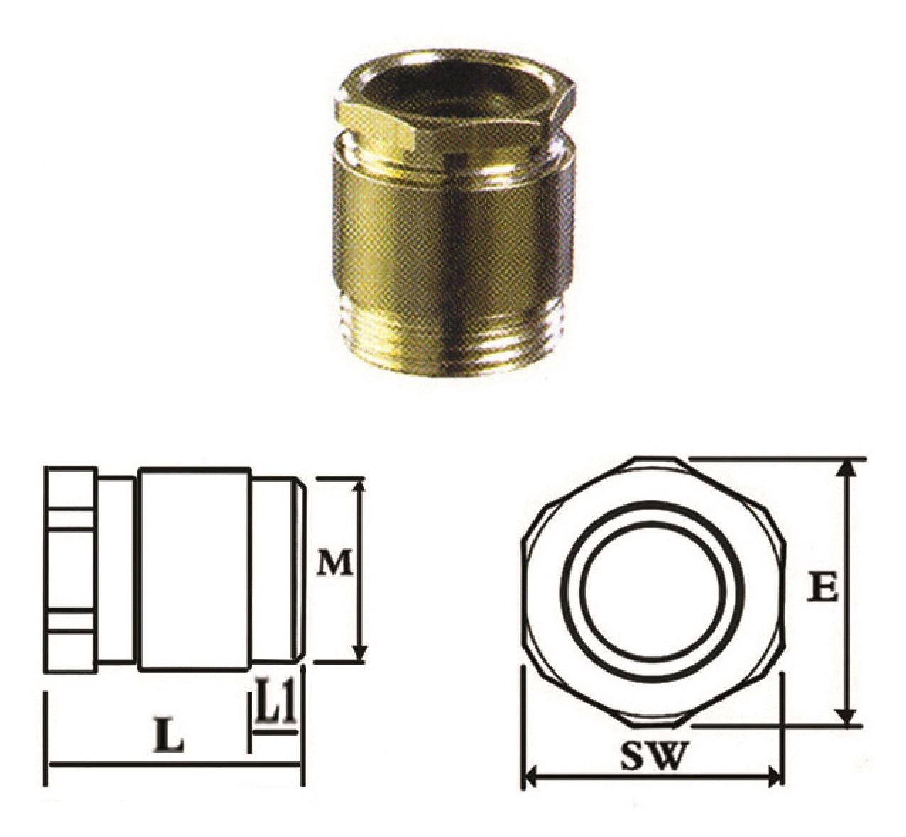 گلند کابل فلزی E.P.P - CPG