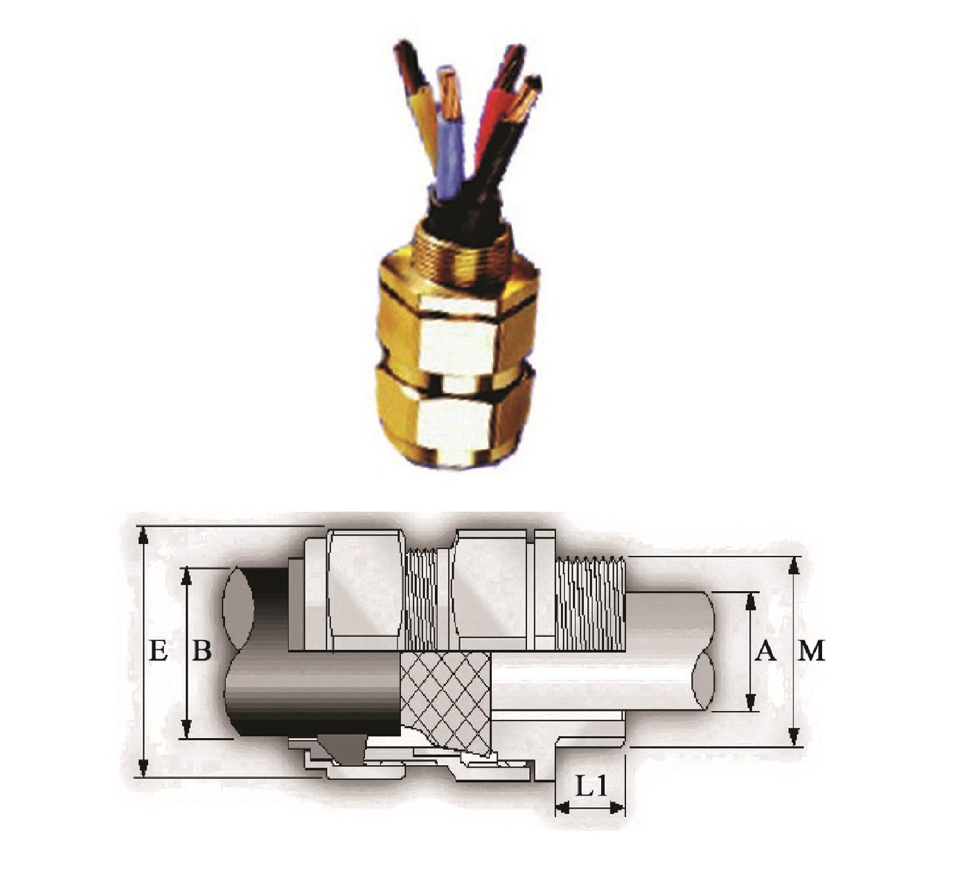 گلند صنعتی کابل E.P.P - CX/Z