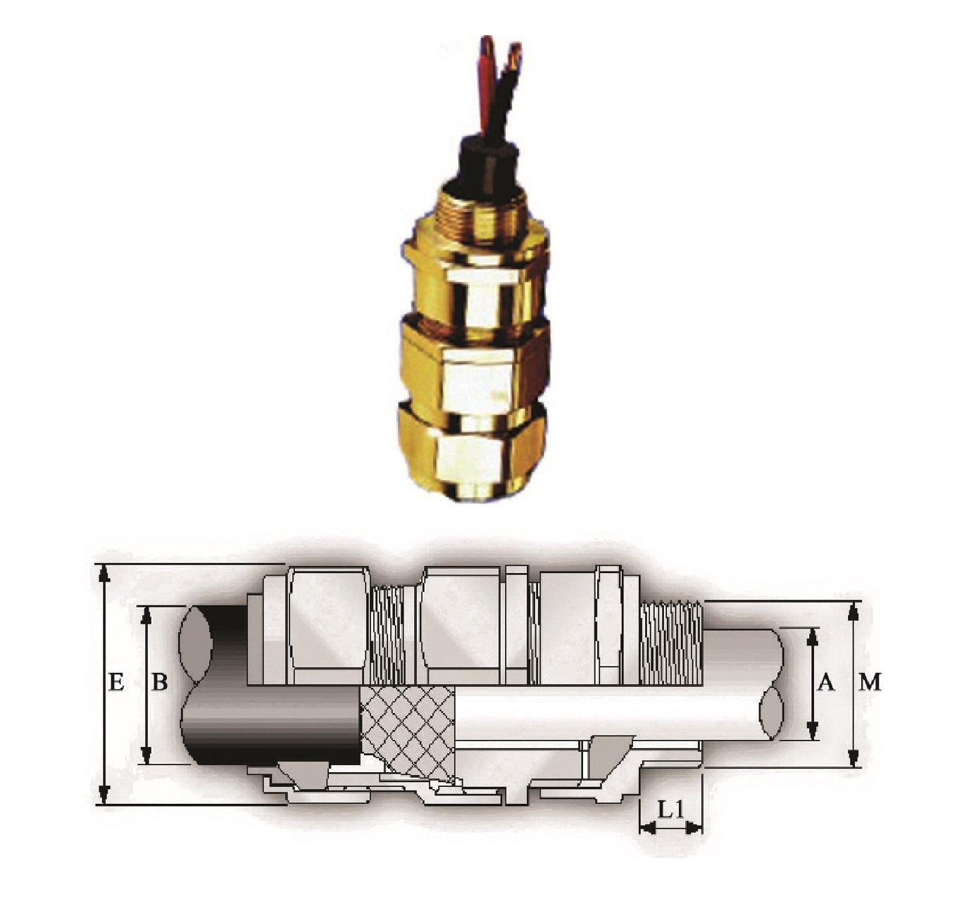 گلند صنعتی کابل E.P.P - E1X/Z