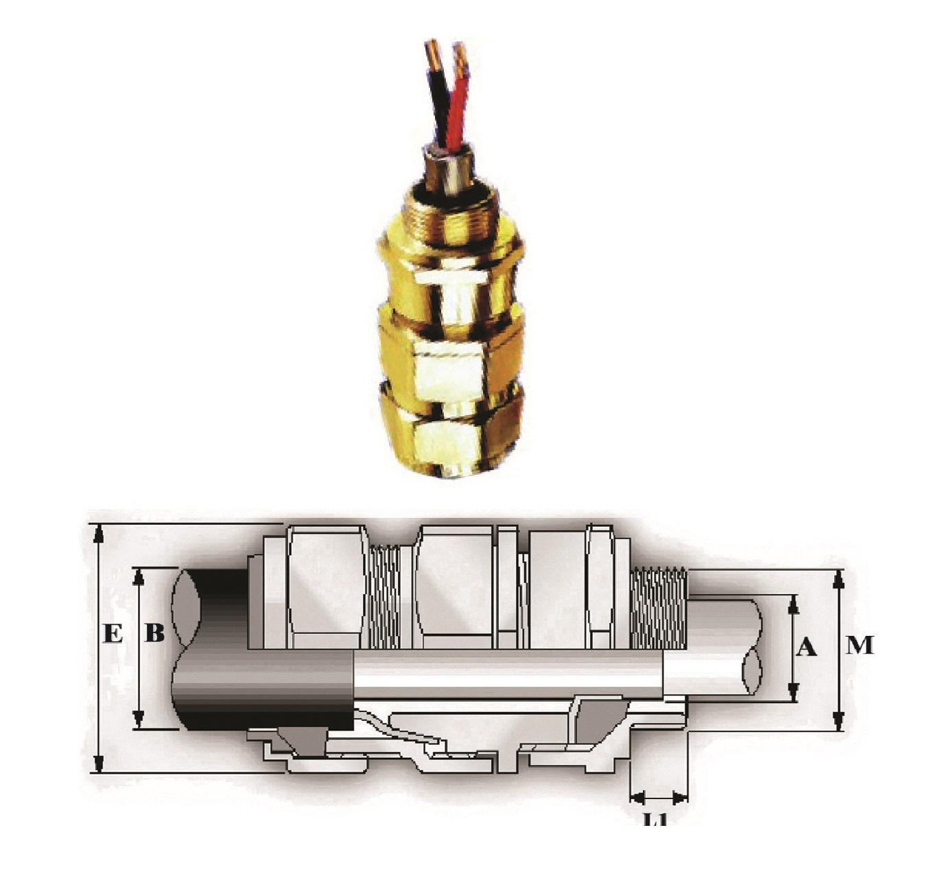 گلند صنعتی کابل E.P.P - E2W