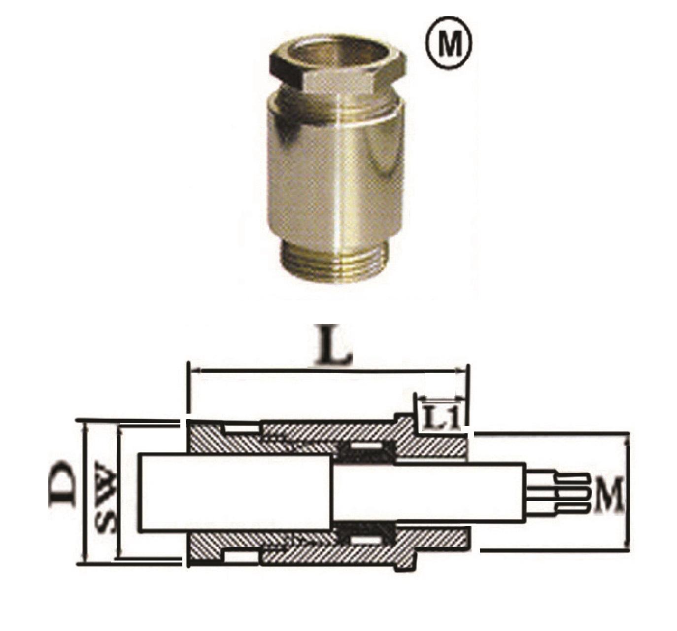 گلند کابل فلزی E.P.P - GM