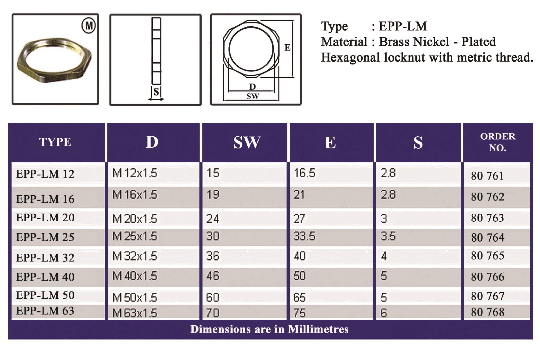 E.P.P - LM Technical Datasheet