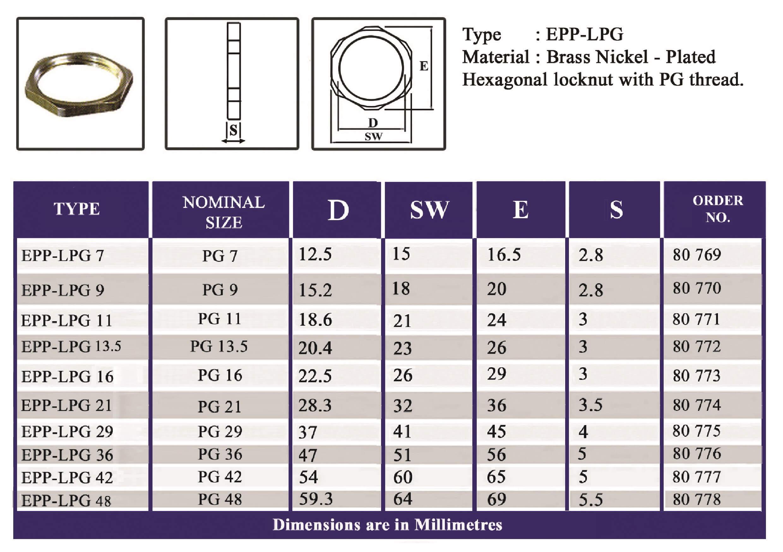 E.P.P - LPG Technical Datasheet
