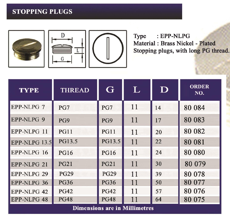 E.P.P - NLPG Technical Datasheet
