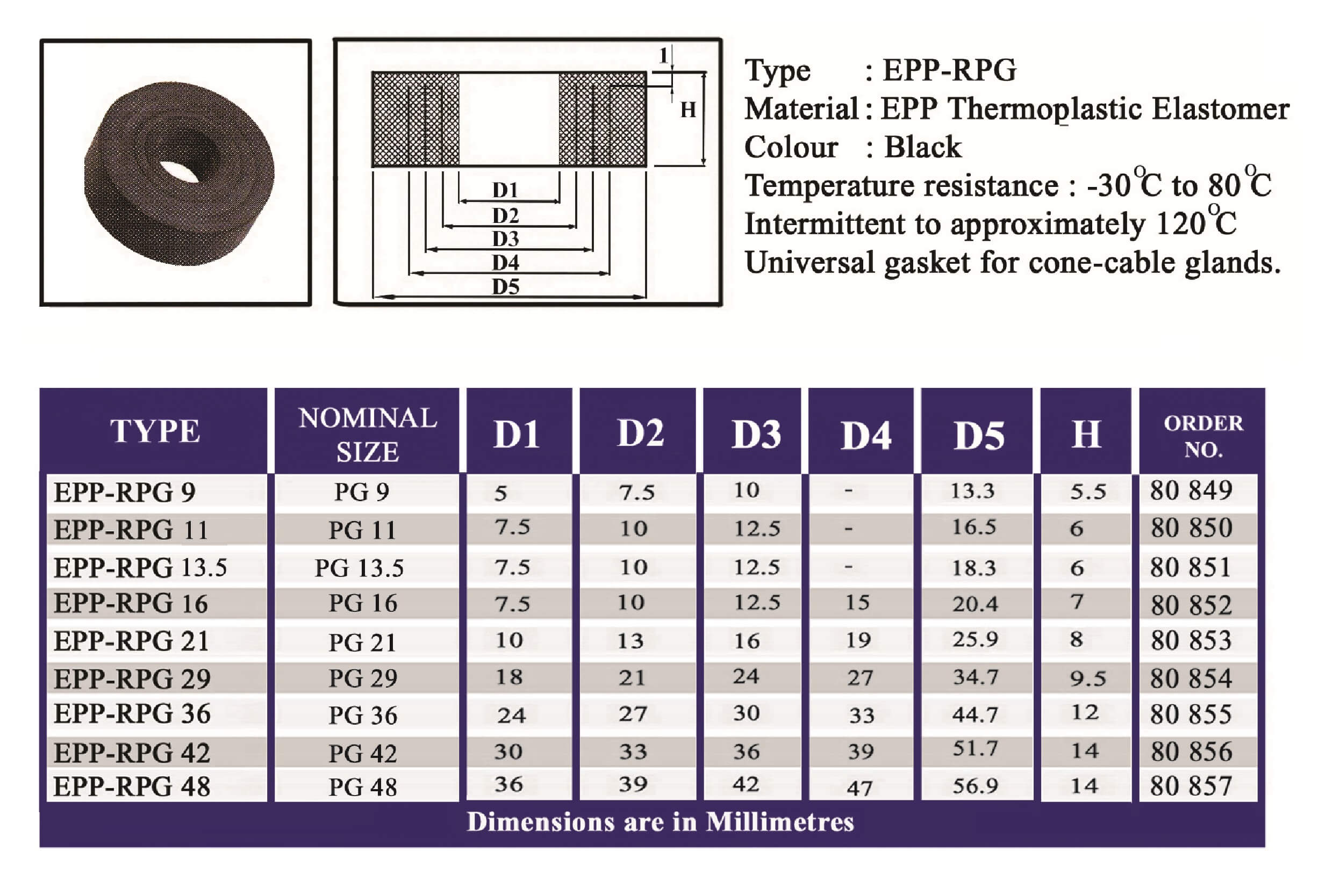 E.P.P - RPG Technical Datasheet