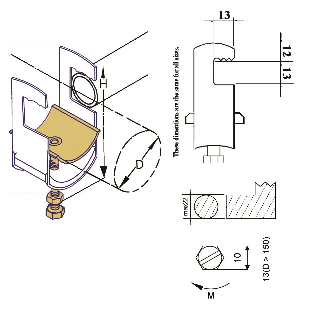 E.P.P-RU Cable Clamp