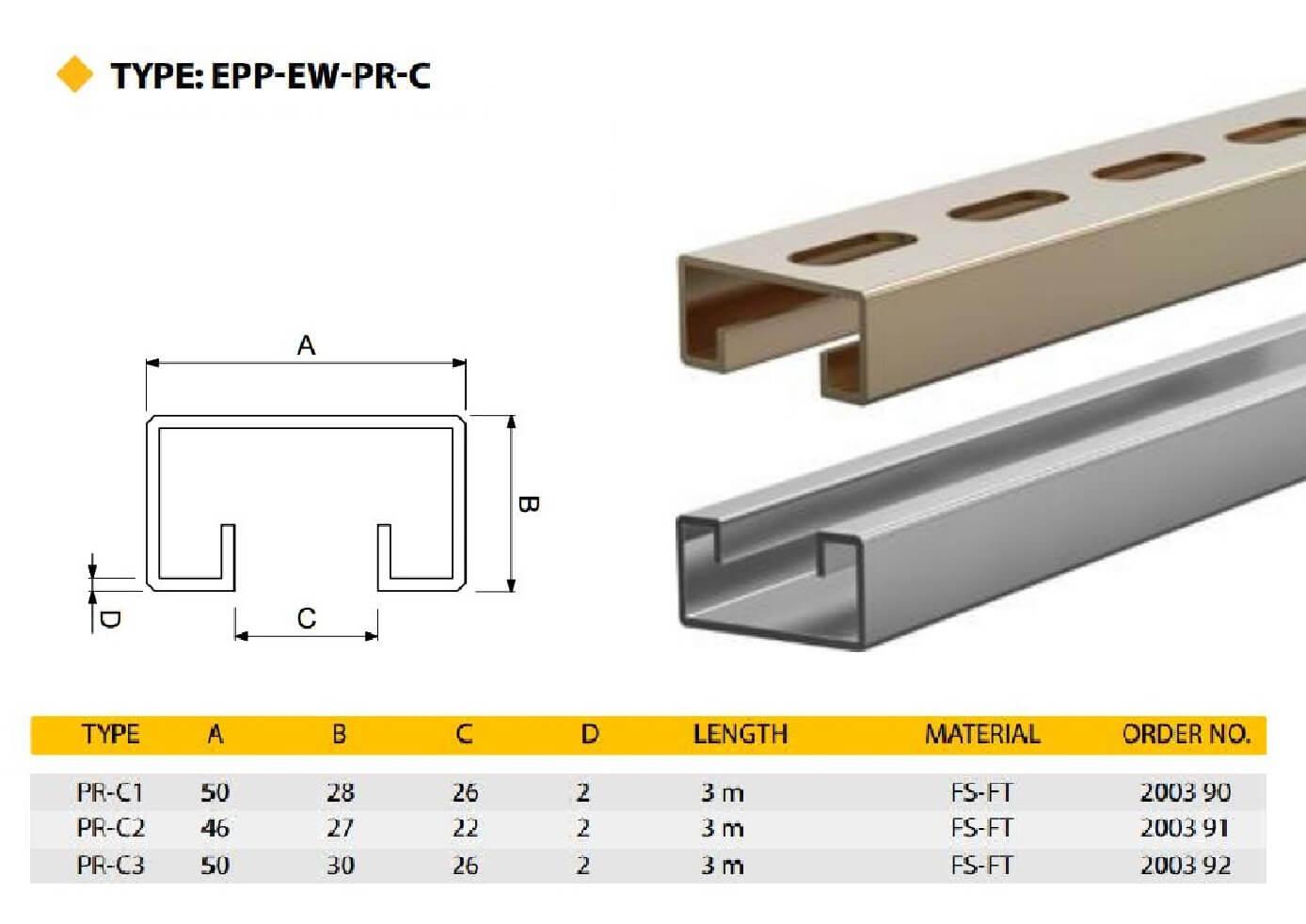 E.P.P - EWPRC Technical Datasheet
