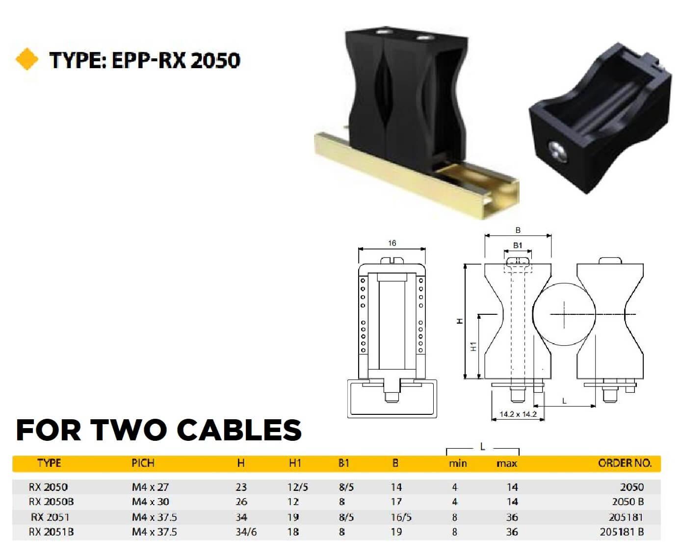 E.P.P - RX2050 Technical Datasheet