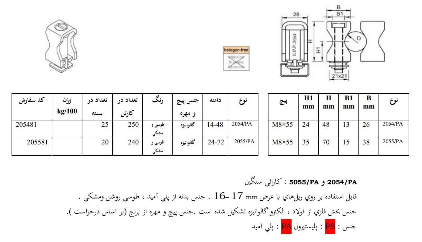 E.P.P - RX2054PA Technical Datasheet