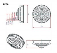 Grommet CHG Cross Section