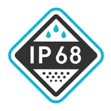 Ingress Protection IP68 Logo